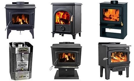 best-wood-stove-reviews - The Complete Guide To Wood Stoves For Small Homes - Tiny House