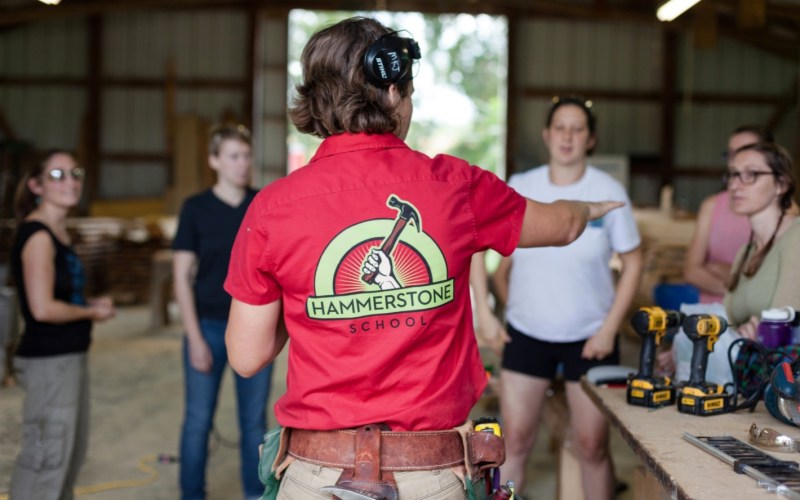 Build Your Tiny House by Sponsoring a Carpentry Class for Women 05
