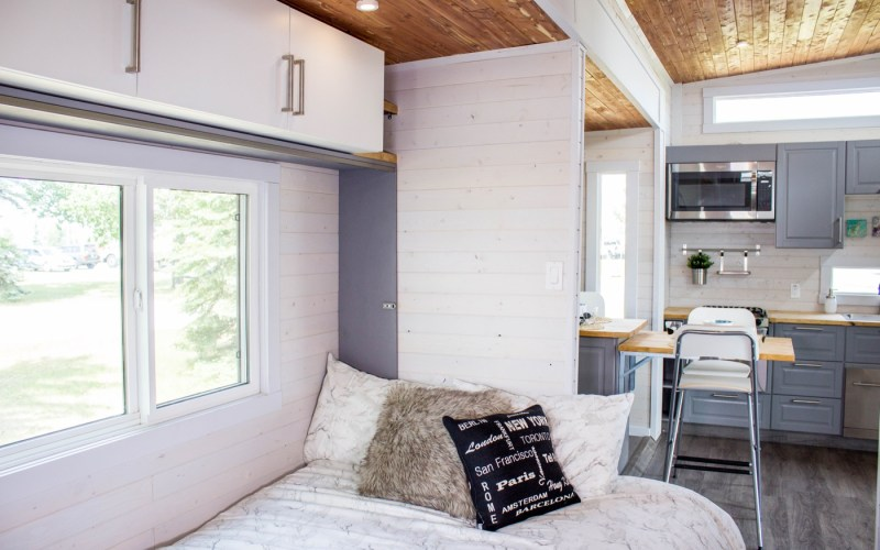Aurora Tiny House with Huge Expanding Slide Outs by ZeroSquared Canadian Tiny House Builder 004