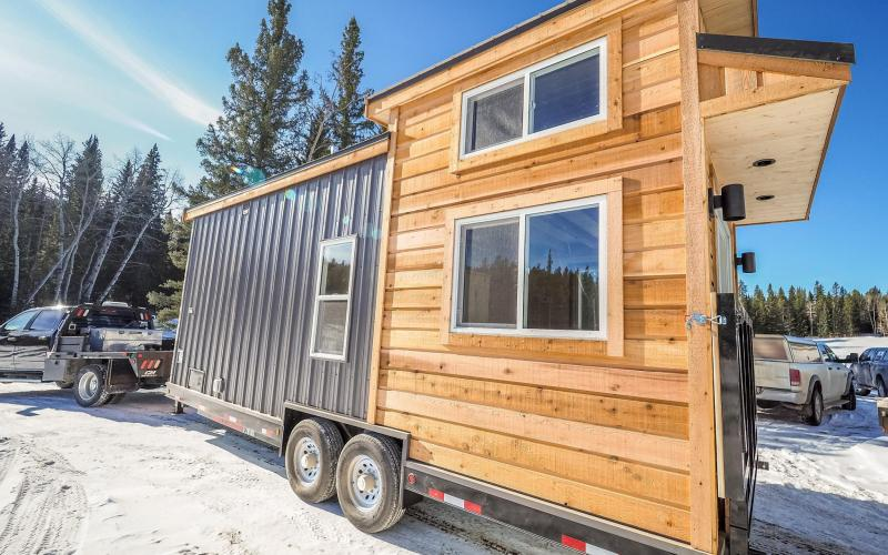 The Crow Tiny House by Blackbird Tiny Homes 0016