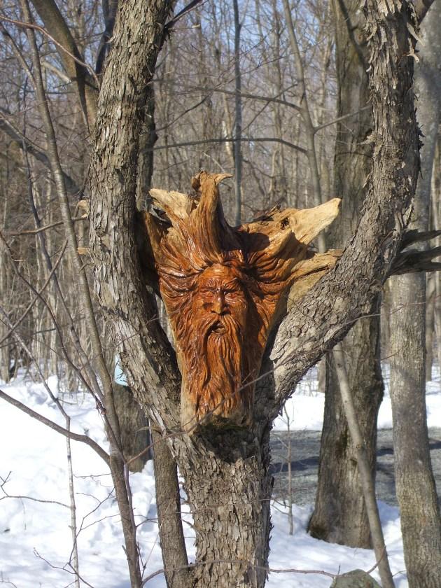 DIY Carving Wood Spirits Wooden PDF Reloading Desk Plans