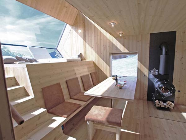 484 Sq Ft Modern Tiny Cabin Inspired By Birds And UFOs The Ufogel Tiny House Pins