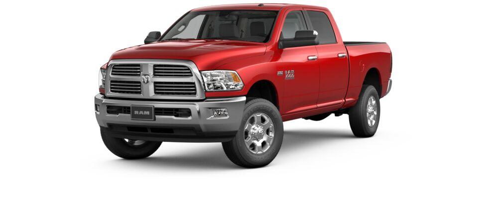 Dodge Ram series diesel truck