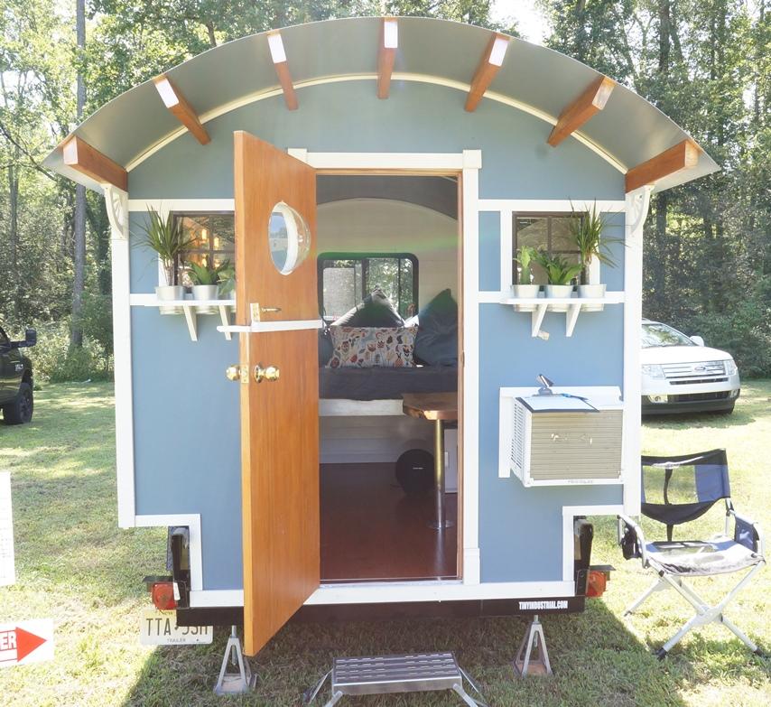 tiny house expo. Tiny Camper Gypsy Vardo By Industrial House Expo