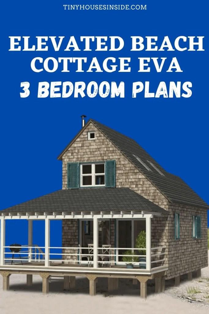 Elevated Beach Cottage Eva 3 Bedroom Plans