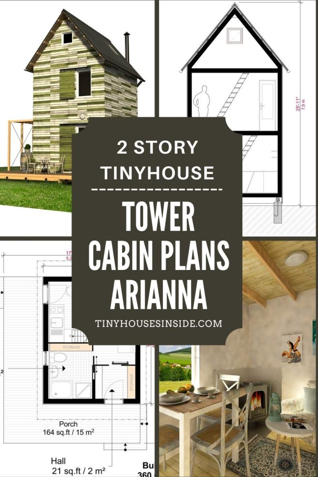 Tower Cabin Plans Arianna