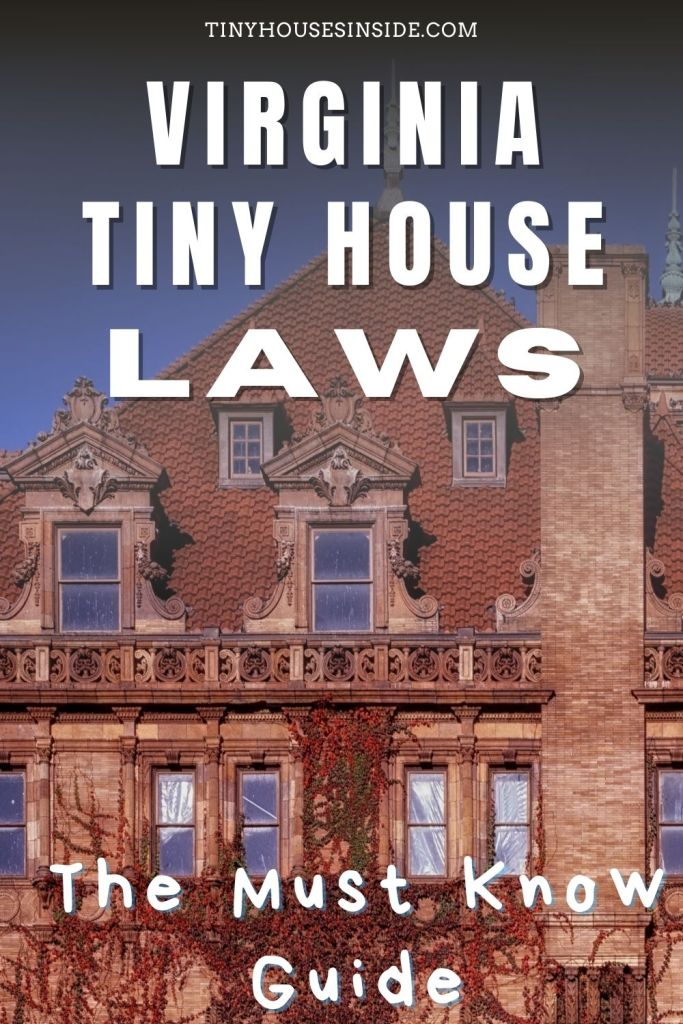 Virginia Tiny House Laws