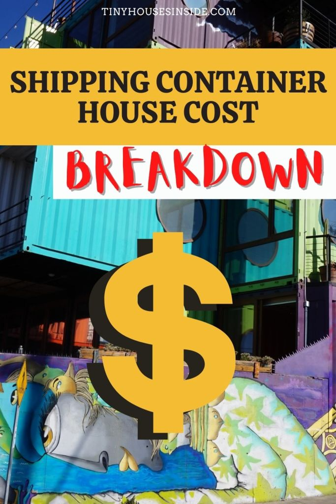costs of a shipping container house