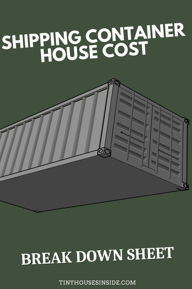costs of building a shipping container