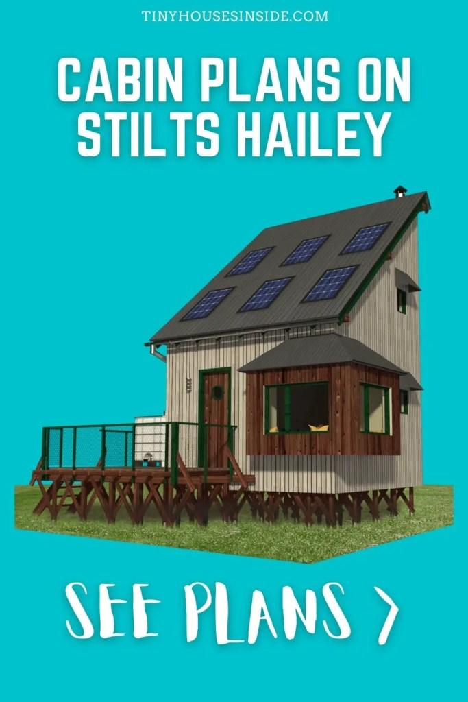 Cabin plans on Stilts Hailey loft