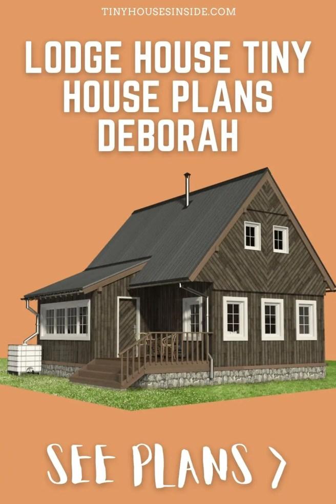 Lodge House Plans Deborah
