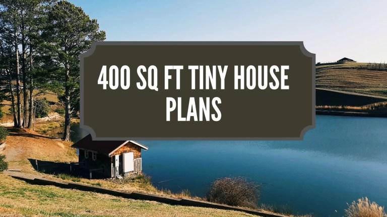 400 Sq Ft Tiny House Plans