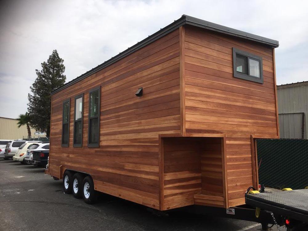 Orey & Jenna's Tiny House by California Tiny House