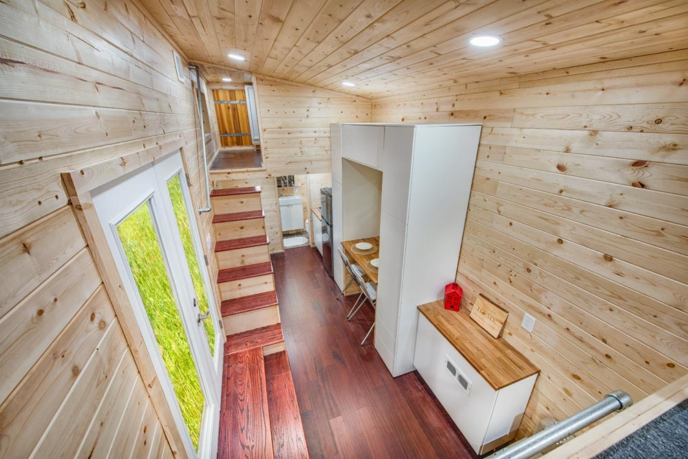 Basecamp Green By Backcountry Tiny Homes Tiny Houses