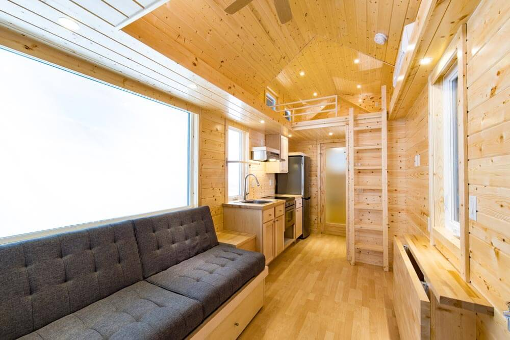 tradition by escape traveler tiny houses on wheels for sale listings. Black Bedroom Furniture Sets. Home Design Ideas