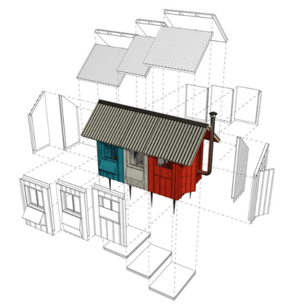 1 200 Diy Tiny House Plans For Sale