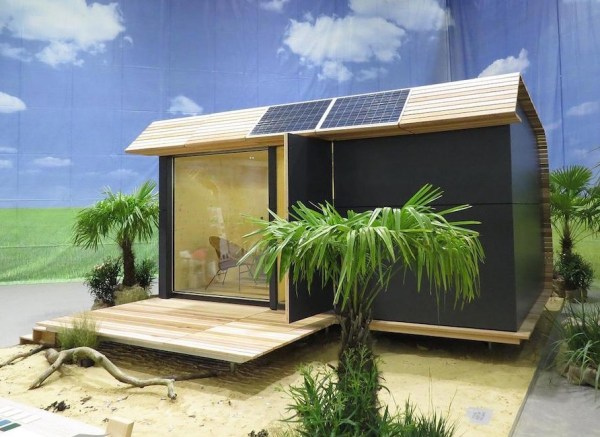 135 Sq. Ft. Off-Grid Wave Eco Cabin by Eco Living