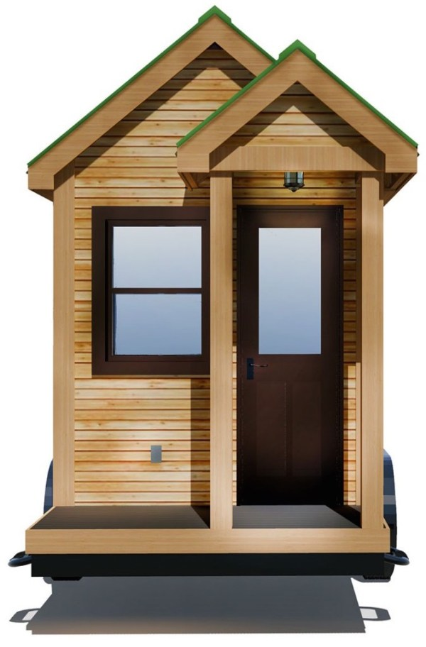 154 Sq Ft Roving Tiny House on Wheels by 84 Lumber Tiny Living 0011
