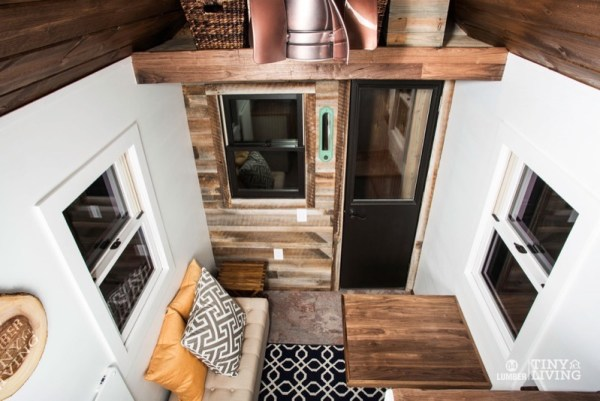 154 Sq Ft Roving Tiny House on Wheels by 84 Lumber Tiny Living 003