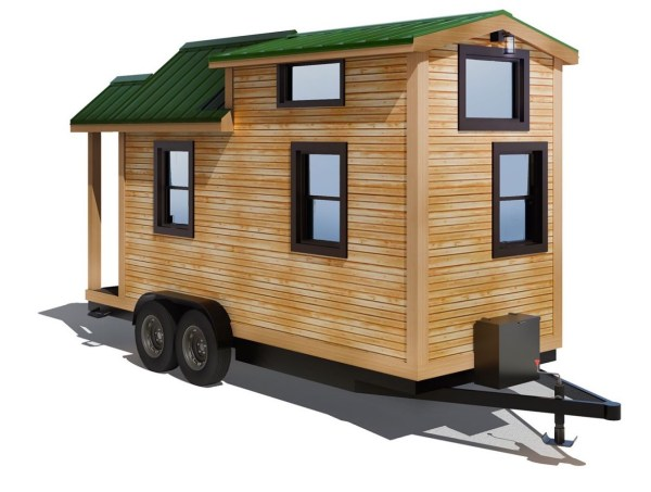 154 Sq Ft Roving Tiny House on Wheels by 84 Lumber Tiny Living 009