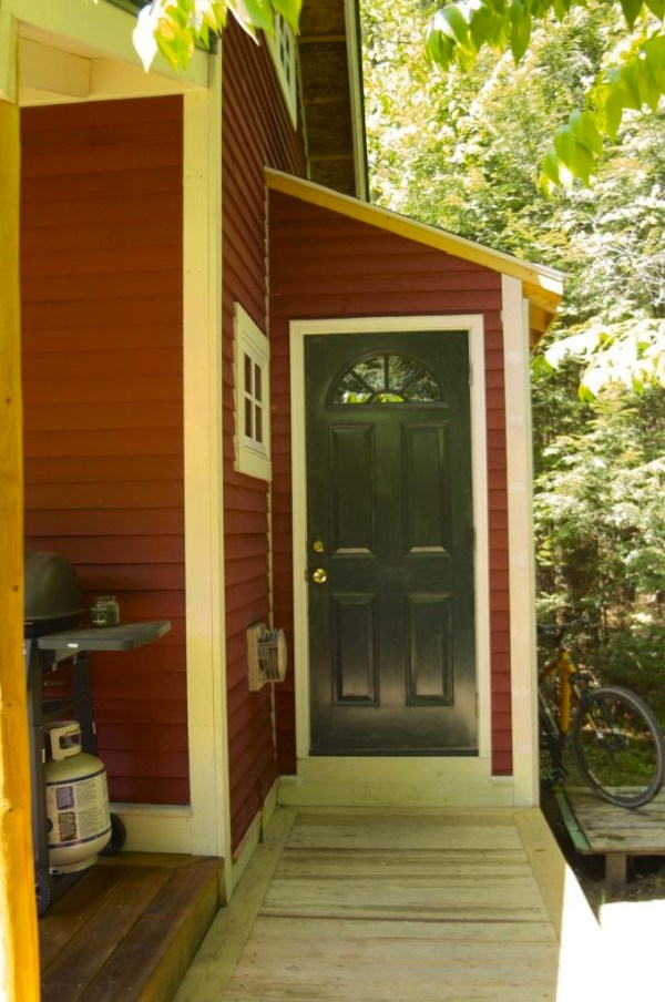 160 SF Shed Cabin in Vermont 007