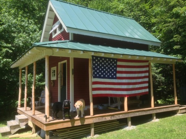 160 SF Shed Cabin in Vermont 009