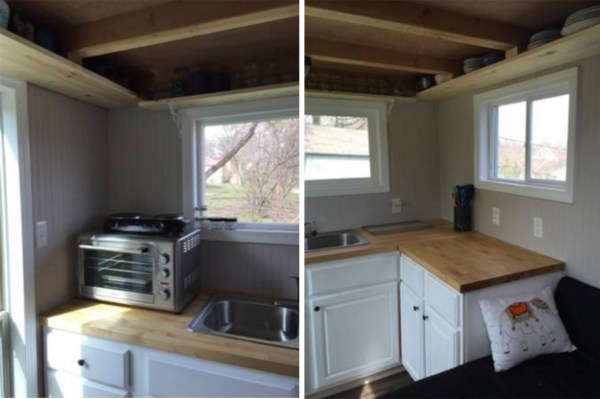 160 Sq Ft Tiny House on Wheels For Sale 003