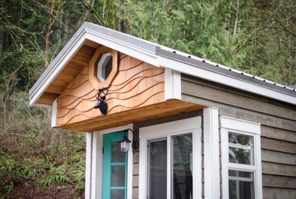 160 Sq. Ft. Rewild Tiny Home on Wheels 0012