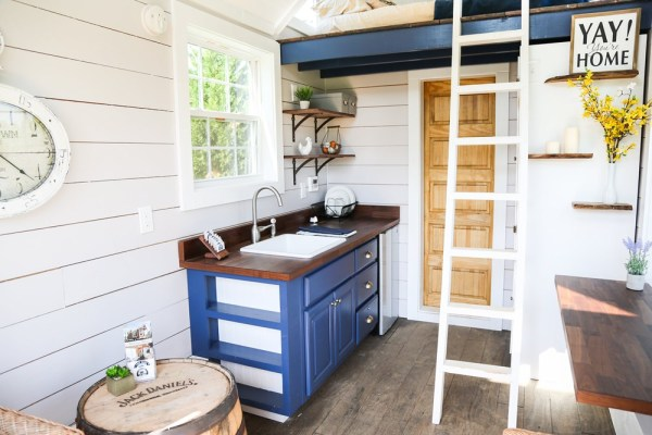 16ft Tiny Cottage on Wheels by Free Range Homes 003