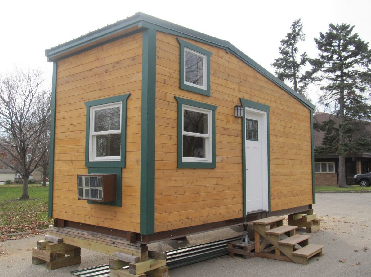 180 sq ft tiny house for sale with extra 64 sq ft loft for Tiny house with 2 sleeping lofts