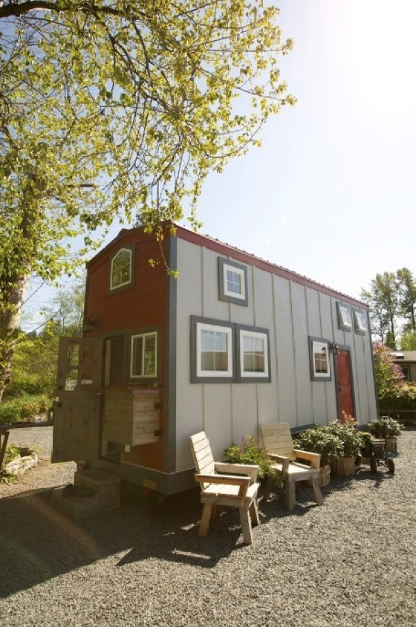 192 Sq. Ft. Tiny House called 'The Barn'