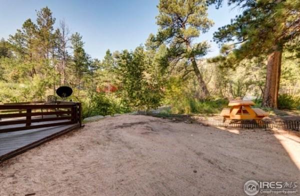 1920s Tiny Log Cabin in Drake Colorado For Sale