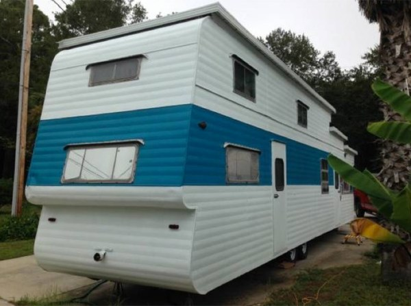 1954 two story vintage travel trailer for sale for 2 story house for sale