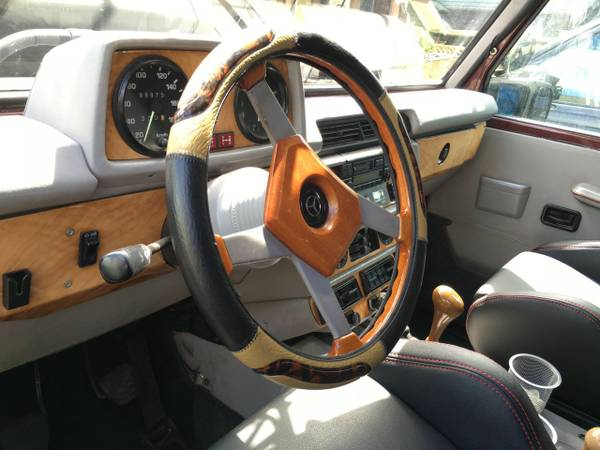 1984 Mercedes-Benz G Wagon RV 006