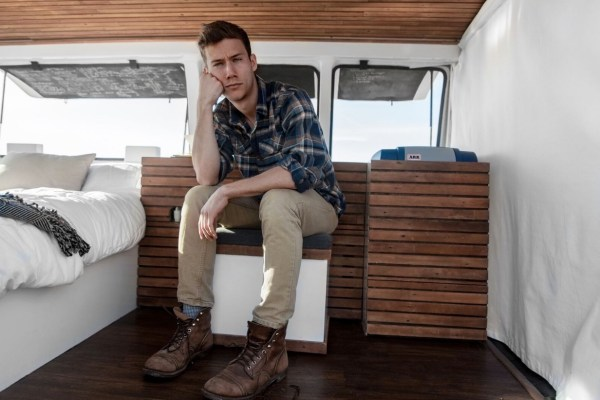 23-Year-Old Filmmakers Cargo Van Tiny House 0014