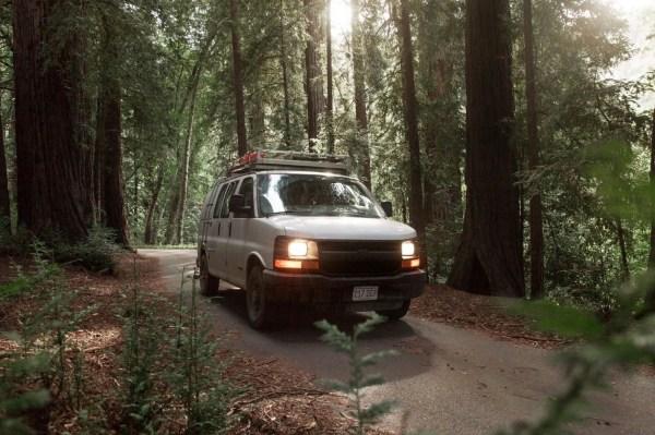 23-Year-Old Filmmakers Cargo Van Tiny House 0017