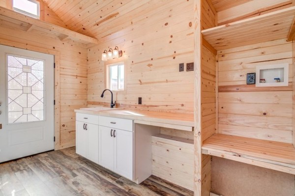 290sf Tiny House on Wheels with Downstairs Bedroom For Sale in Durham, NC 004