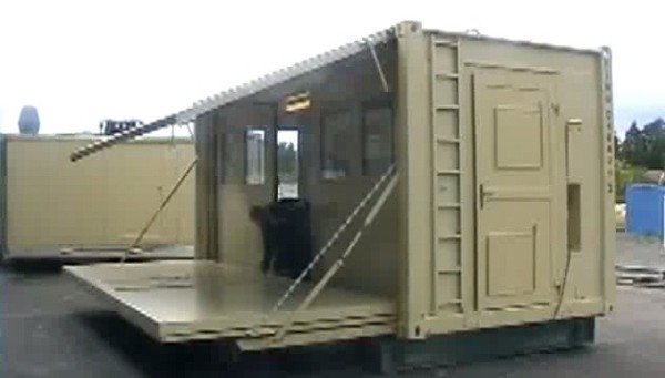 Transforming And Expanding Shipping Container Shelters