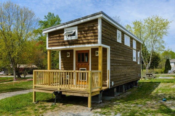300 Sq Ft Custom Tiny Home on Wheels by Wishbone Tiny Homes 0026