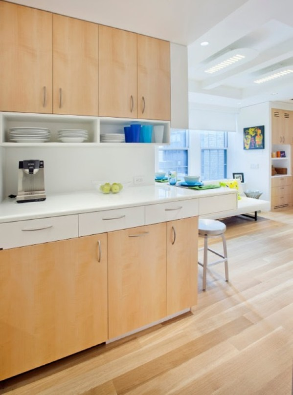 kitchen in small NYC apartment