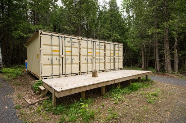 355 Sq. Ft. Container Cabin For Sale 001