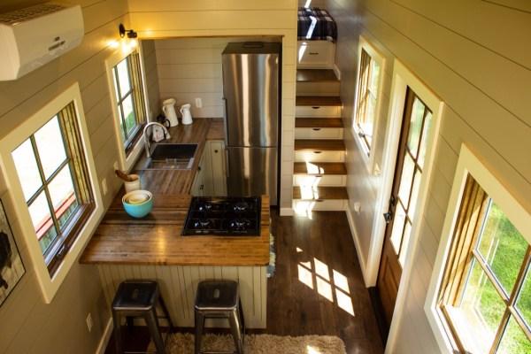 35ft Timbercraft Tiny Home For Sale INTERIOR 001