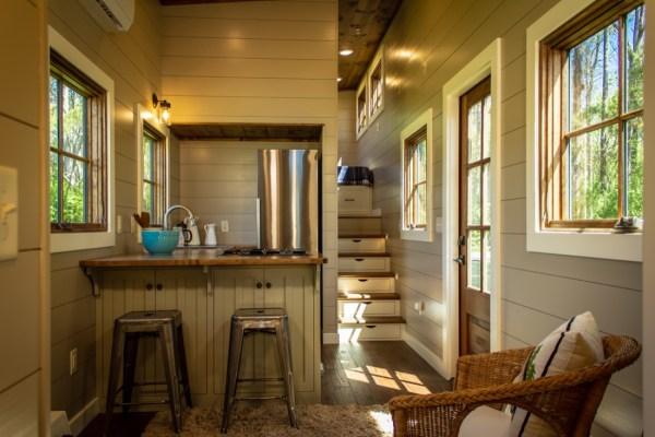 35ft Timbercraft Tiny Home For Sale INTERIOR 002