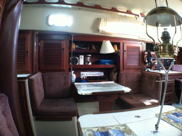 Living Aboard a 36' Catalina Sailboat - Small Spaces & Tiny Houses