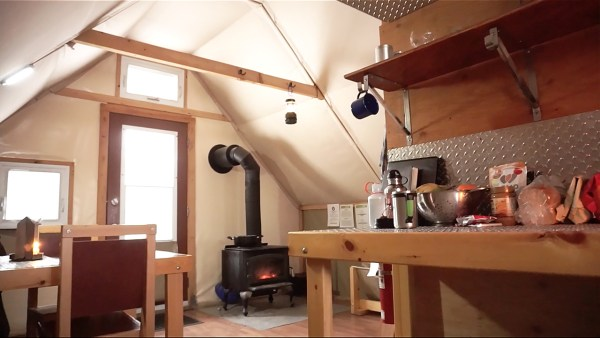 270 Sq. Ft. Off-Grid Prospector-Style Tent