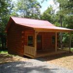 400 Sq. Ft. Log Cabin in Laurel Fork 001