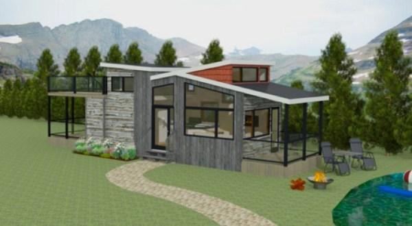 400 sq ft Denali Tiny House by Utopian Villas 001