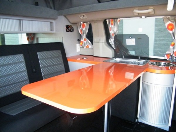 5 Mars RV Dodge Caravan Motorhome Conversion 0015