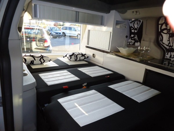 5 Mars RV Dodge Caravan Motorhome Conversion 008