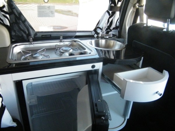 5 Mars RV Dodge Caravan Motorhome Conversion 009